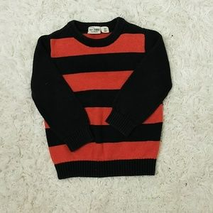 Children's Place Cotton Striped Boy's Sweater 3T